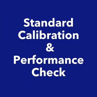 Standard Calibration & Performance Checks