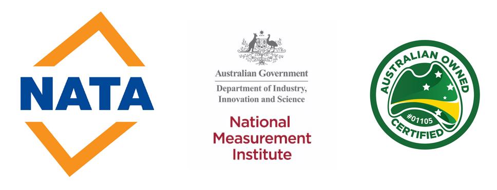 Nata NMI accreditations